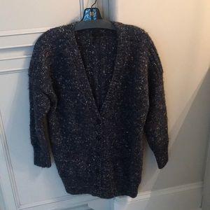 Jcrew chunky marled cardigan sweater